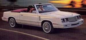 My 1983 Convertible. A Dodge 400 I brought on the spot.